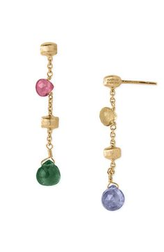 Marco Bicego 'Paradise' Drop Earrings available at Nordstrom  These are so me.