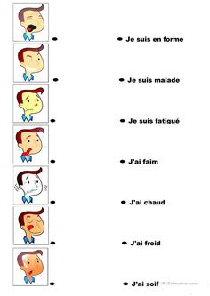 The Online Way of Learning French French Language Lessons, French Language Learning, French Lessons, French Flashcards, French Worksheets, Learning French For Kids, Ways Of Learning, French Expressions, French Teaching Resources