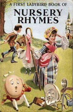 Image result for vintage nursery rhymes