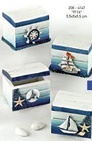 Αποτέλεσμα εικόνας για βαπτιστικα αγορι ναυτικο Decoupage Box, Decoupage Vintage, Seashell Art, Seashell Crafts, Seaside Decor, Coastal Decor, Altered Cigar Boxes, Sea Crafts, Creation Deco