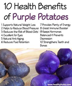 potatoes Purple Potatoes: 10 Reasons They're Better for You Than White Potatoes! 10 Health Benefits of Purple Potatoes! Calendula Benefits, Lemon Benefits, Coconut Health Benefits, Potato Health Benefits, Purple Potatoes, White Potatoes, Tomato Nutrition, Food Nutrition, Nutrition Guide