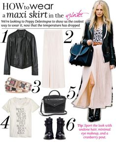 how to wear a maxi skirt (20 Style Tips On How to Wear A Maxi Skirt For Any Season)