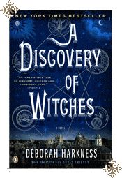 A Discovery of Witches by Deborah Harkness    I loved this so much that I read it on paper, on my kindle, and got the audio book!
