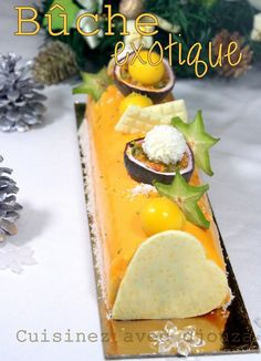 buche de noel facile mousse exotique
