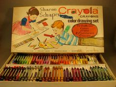 What a fun Crayola Crayons Drawing set. Description from etsy.com. I searched for this on bing.com/images