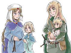 APH: Celtic Ancestors+Children by fir3h34rt on deviantART