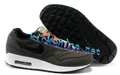 368428f522e5  57.25 Mens  Nike  Air  Max 1 Velvet Brown Black Shoes  Black  Womens   Sneakers