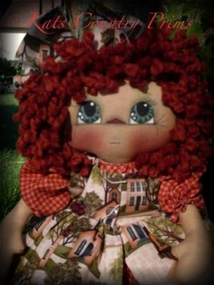 One of my favorite dolls to create Beth Anne
