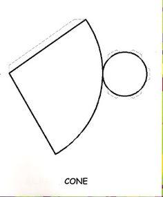 São 50 moldes diversos de sólidos geométricos para recortar e montar: molde de cone, molde de pirâmide, molde de cubo, molde cilindro, mo...