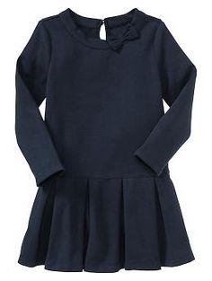 Bow pleated dress $29.95