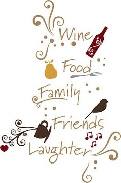 My Favorite Things. Wine, Food, Family, Friends and Laughter! And I get all that with The Traveling Vineyard Traveling Vineyard, Wine Signs, Wine Guide, Wine Wall, Wine Quotes, Wine O Clock, In Vino Veritas, Wine Tasting, Wine Recipes