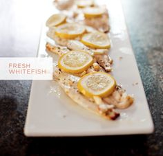 5 ingredient whitefish recipe  |  The Fresh Exchange