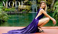 Julia Lanski: Mode Lifestyle Magazine's Most Beautiful Woman In The World Most Beautiful Women, Lifestyle Blog, Beauty Hacks, Culture, Magazine, Female, World, Dress, Fashion