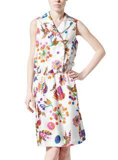 Sonia by Sonia Rykiel-art decò print dress  € 395,00