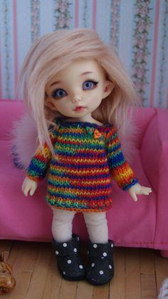 This dress fits Lati Yellow Dolls Dolls PukiFee by CocoDolls
