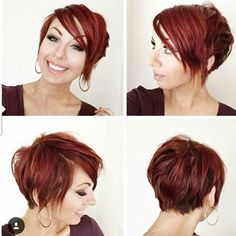 hair style with side bangs 1000 images about hair on medium 5786