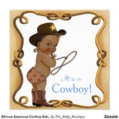 Shop Ethnic Little Cowboy Baby Shower Invitation created by The_Baby_Boutique. Baby Shower Cards, Baby Shower Invitations For Boys, Baby Shower Themes, Baby Shower Decorations, Shower Ideas, Cowboy Baby Shower, Baby Boy Shower, Congratulations Baby Boy, Cowboy Invitations