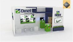 Stand 3d, modelado caja | Dreambox Blog de proyectos y diseños realizados
