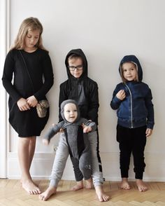 living with four kids
