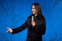 Papa CJ, one of India's leading stand-up comedians, performed at Light of India Awards. Funny! Photo: www.michaeltoolan.com.
