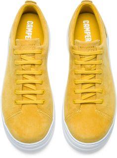 official photos 9c108 f190b Camper Runner Up Yellow Sneakers Women K200645-002 Vad Ska Man Ha På Sig,