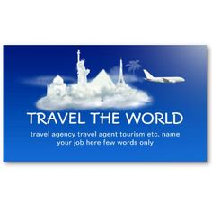 16 Best Travel Agent Business Cards Images Business Cards