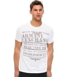 Was $38.00 now only $29.00 for this Armani Exchange Military Eagle T-shirt. Click on pic for more info...