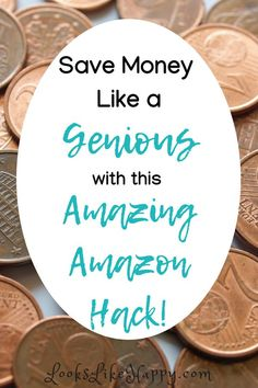 Save TONS of money with this amazing Amazon hack! Have you heard of this one??!! - Looks Like Happy #amazon #amazonhack #budget #savemoney #lifehack #honey #lookslikehappy
