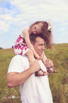 Beautiful dad & daughter