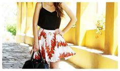 Irene's Closet - Fashion blogger: Peperoncini skirt and tuscan paradise. The italian style with Prada bag!