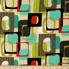 I have in the grey color - but not this color. Michael Miller Jug or Not Retro Framed Vanilla - Oh my!! THis is my new fabric obsession - when this is on sale 10 yards will be mine!!!!