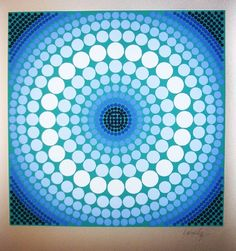 Victor Vasarely - www.kunstzolder.be Виктор Вазарели, Синие Цвета,  Искусство Gcse 05a729007eb