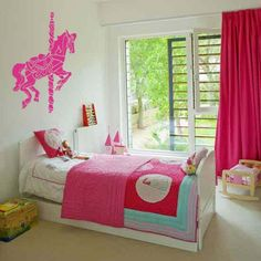 """Merry Go Round Carousel Horse Vinyl Wall Sticker Decal 30""""h x 22""""w on Etsy, $27.50 AUD"""