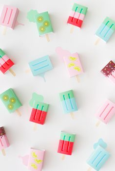DIY Popsicle Favor B