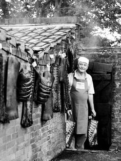"""Emmett's Grocery Store and Smokehouse, Saxmundham. """"Sax"""" has held a market each week for about 700 years."""