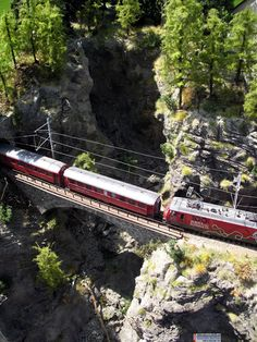 TrainScape: Albulamodell.