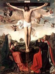 Josse Lieferinxe - The Crucifixion. San Juan Evangelista, Photoshop, Collage, Europe Photos, Holy Week, Jesus Pictures, Jesus Cristo, Religious Art, Picture Quotes