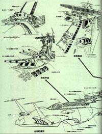 Plan de l'Atlantis (Arcadia N°5 - Death Shadow 2)