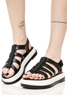 00066ac31713 Melissa Flox Platform Sandals Black Platform Sandals