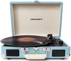 Crosley CR8005A-TU Cruiser Portable Turntable (Turquoise)