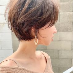 Pin on ショートヘア Funky Short Hair, Asian Short Hair, Short Hair With Layers, Girl Short Hair, Short Hair Cuts, Short Shaggy Haircuts, Short Hairstyles For Thick Hair, Shot Hair Styles, Curly Hair Styles