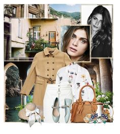 """Models: Elisa Sednaoui"" by katieci ❤ liked on Polyvore featuring Vanity Fair, TIBI, Ermanno Scervino, N°21, WALL, Edition, Reverie, Monserat De Lucca, Dolce&Gabbana and Equipment"