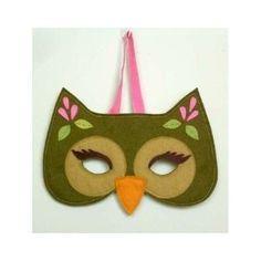 cutsy owl mask by earnestine