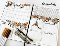 These bullet journal monthly spreads will inspire you to organize your life and plan ahead!