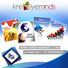 Get multi types of Web Solution from #Kre8iveminds Visit Us at: www.kre8iveminds.com