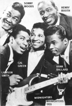 Hank Ballard And The Midnighters… Let's Go, Let's Go, Let's Go…. (1959)