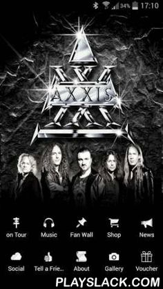 AXXIS  Android App - playslack.com , Welcome to the AXXIS world! The world of the German hard rock legend and their fans!Get your push-mails from AXXIS immediately, gigs with navigation, ticket sales, merchandising shop, gallery, fan-wall, social media, information & music from AXXIS directly on your Smartphone or pad.In the future we will present special offers only for this app. So keep in touch with us! We hope you enjoy this app!Willkommen in der AXXIS Welt! Die Welt der deutschen…