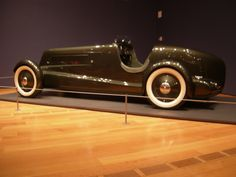 1930's Ford Concept Car. Did not make it to production, but Edsel Ford drove this around as his personal car for a while. Photo taken at the Atlanta High Museum, Dream Cars Exhibit. May 2014