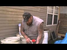 ▶ How I Get Water From My Rain Barrels - YouTube