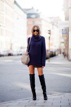 20 Looks with Swedish blogger Kenza Zouiten Glamsugar.com Stockholm Streetstyle